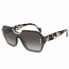 4159be90be301 Prada Single Lens Sunglasses PR15TS VIP0A7 48MM Transluscent Gray Brown  Havana