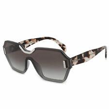 d0a09d2e1e08b Prada Single Lens Sunglasses PR15TS VIP0A7 48MM Transluscent Gray Brown  Havana