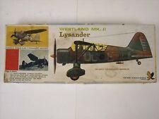 Vintage Hawk Westland MK. II Lysander 1:48 Model Airplane Kit #563