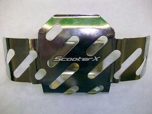 Gas Scooter Skateboard Fuel Tank Metal Shield Cover Part 49cc 43cc 33cc 52cc