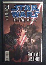 Dark Horse Comics Star Wars Darth Maul Death Sentence #3 signed by Ray Park