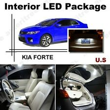 For Kia Forte 2010-2013 Xenon White LED Interior kit + White License Light LED