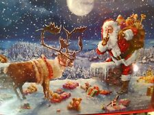 Leanin Tree Christmas Card Set Santa Deliver Toys 10Pk New Buy It Now In Store