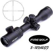 3-12X42 SF Riflescopes Rifle Scope Hunting Scope w/ Mounts Magnification Sight