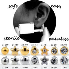 1pc Disposable Ear Piercing Unit Ear Piercing Gun Ear Piercer Cartilage Earring