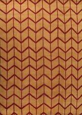 Geometric Moroccan Orange Oriental Area Rug Hand-knotted Wool Large Carpet 10x14