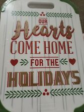 Farberware Holiday Christmas 10 x 14 Nonslip Cutting and Serving Board