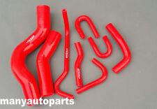 For Landcruiser heater bypass hose VDJ200 V8 1VDFTV Diesel silicone RED