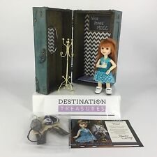 "MDCC 2016 BERDINE CREEDY Centerpiece Doll NINA 6"" BJD w Trunk Favors + Red Hair"