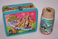 Disney Magic Kingdom Lunch Box w/ Thermos Near Mint Condition 1979 Vintage