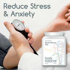 BODY BALANCE BLOOD PRESSURE PILLS TABLETS HEALTH HEART REDUCE STRESS & ANXIETY