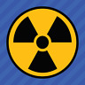 Nuke Radioactive Nuclear Radiation Warning Symbol Vinyl Decal Sticker