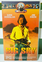 The Big Sky Featuring Kirk Douglas & Jim Davis! Vintage VHS Movie!