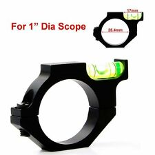 Tactical Anti-cant 25.4mm Ring Mount Rifle/Airgun Scope Spirit Bubble Level Ring