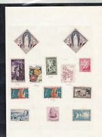 monaco stamps page ref 16860