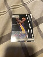 2010-11 Prestige Bonus Shots Signatures Black ON CARD AUTO KOBE BRYANT 9.5 #/49