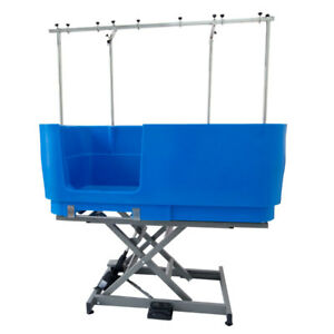 Burtons Easy Groom  Dog Grooming Electric Tub - Blue