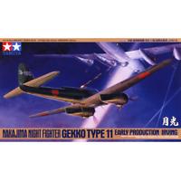 Tamiya 61084 Nakajima Night Fighter Gekko Type 11 Early Production (Irving) 1/48