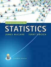 A First Course in Statistics (11th Edition), McClave, James T., Sincich, Terry T