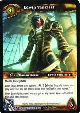 WOW TCG Edwin VanCleef Dungeon Treasure 27/60 - WORLD OF WARCRAFT ENG MINT