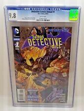 BATMAN DETECTIVE COMICS ANNUAL 1 - CGC Grade 9.8 White Pages - DC Comics New 52
