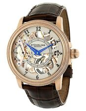 Stuhrling Original Mens 22833452 Boardroom Brumalia Mechanical Skeleton Watch