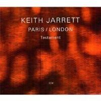 "KEITH JARRETT ""PARIS/LONDON TESTAMENT"" 3 CD SET NEW!"