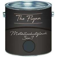 The Flynn Metallschutzlack 3-in-1 Anthrazitgrau RAL 7016 2,5L 5L 10L TOP! Grau