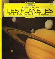 "LP 12"" 30cms: Gustav Holst: les planètes. Herbert Von Karajan. DG. C0"