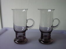 "Wedgwood VETRO Frank LANCIATORE design ""Seamus"" Irish coffee in vetro FJT/20 x 2"
