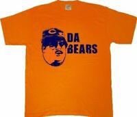 Adult Orange Saturday Night Live SNL Chicago Da Bears Football Team T-Shirt Tee