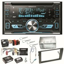 KENWOOD dpx-7000dab Bluetooth Autoradio DAB + Kit Installazione Per AUDI a4 b7 SEAT EXEO