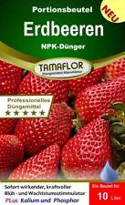 Erdbeerdünger Erdbeerendünger Dünger Erdbeeren 3 Portionsbeutel für 30l