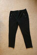J Mc Laughlin Women's Leggings Elastic Waist Black Size 12