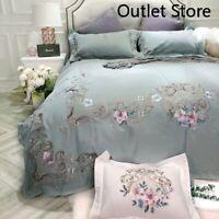 4/7pcs egyptian cotton Duvet Cover Set Bedding Set emroidery bed cover Bed Linen