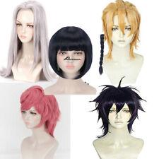 JoJo's Bizarre Adventure Cosplay Wig  Anime Hair Costume Women Men + Free Cap