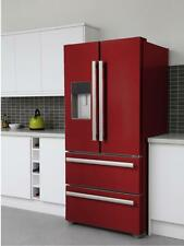 KFD4952XD American Style Four Door Fridge Freezer Bespoke cranberry red