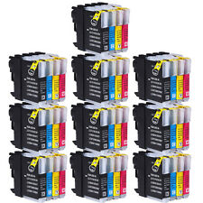40 Ink Cartridges for Brother DCP-J125 DCP-J315W DCP-J515W MFC-J265W  MFC-J410