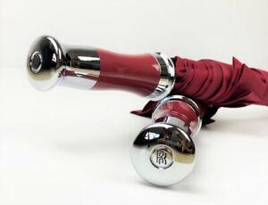 Rolls Royce Phantom Ghost Dawn Wraith & Cullinan Burgundy Umbrella - Custom Made
