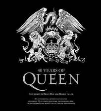 40 Years of Queen [With Poster], Good Condition Book, Queen, ISBN 9781250005687