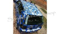 Car Camouflage kit camo race side panel door stickers decals 2 colour kit