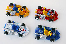 "Go-Kart Die-Cast, Motor Sport 1:16 scale 4.5"" long, Set Of All 4-Colors !"