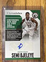 2017-18 Semi Ojeleye NBA Panini Chronicles Celtics Rookie RC Auto 016/199 🔥🔥