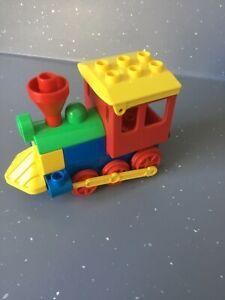 Multicoloured Lego Duplo Train Engine