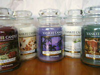 New Yankee Candle Large Jars 22oz.~You Choose~Multi Ship Discount~Great Gift!