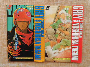 Comic, Grey, nº 3 y 4 de 9, Yoshihisa Tagami, Viz, Planeta DeAgostini, año 1992