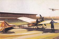 Postcard Malev Airlines Aladar Zselyi's monoplane 1912 unused