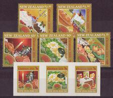 Nouvelle-Zélande 2004 Noël ensemble de 8 Non montés excellent état, MNH