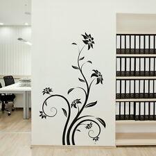 Beautiful Huge Flower Wall Sticker / Interior Decor / Floral Wall Transfer x12