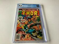 THOR 252 CGC 9.6 WHITE PAGES ULIK TALES OF ASGARD KIRBY MARVEL COMICS 1976